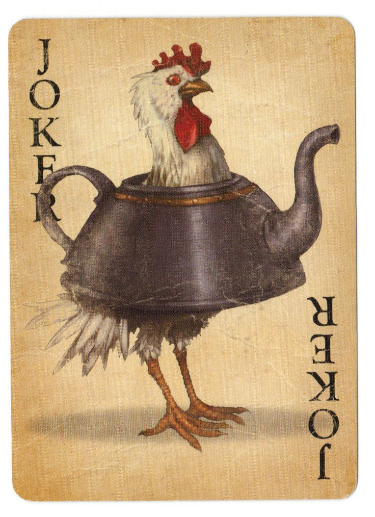 Fable Cards- Joker: Chicken by Frostbite-Melody on DeviantArt