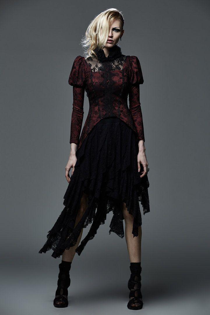 Hexen Fransenrock Lagertha | Besondere Gothic Mode für die