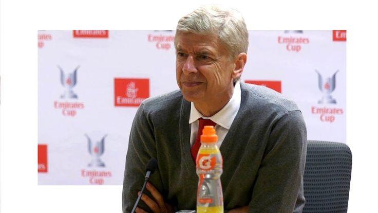 cool Arsenal 1-2 Sevilla - Arsene Wenger Post Match Press Conference - Arsenal Win Emirates Cup