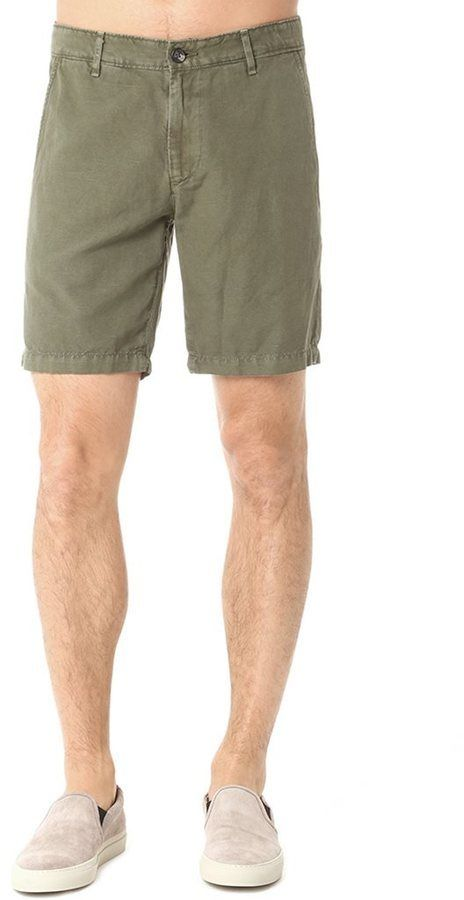 $98, AG Jeans The Wanderer Short Sulfur Vine Canopy. Sold by AG Jeans. Click for more info: https://lookastic.com/men/shop_items/355609/redirect