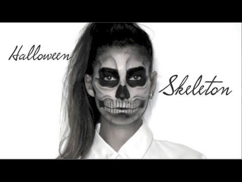 Lufy - Squelette - Maquillage Halloween - Skeleton Makeup - Lady Gaga Born this Way