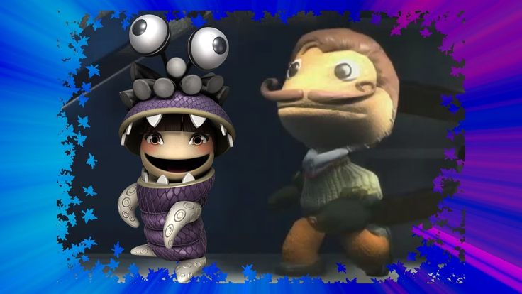 SCARY HELLO NEIGHBOR in Little Big Planet 3 --  Funny Maps and Mods