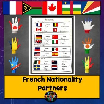 17 best images about french world language cafe lesson plans on pinterest free french. Black Bedroom Furniture Sets. Home Design Ideas
