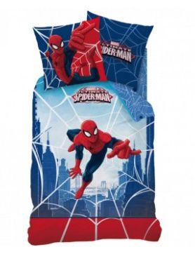 Marvel Spiderman Dekbedovertrek Web