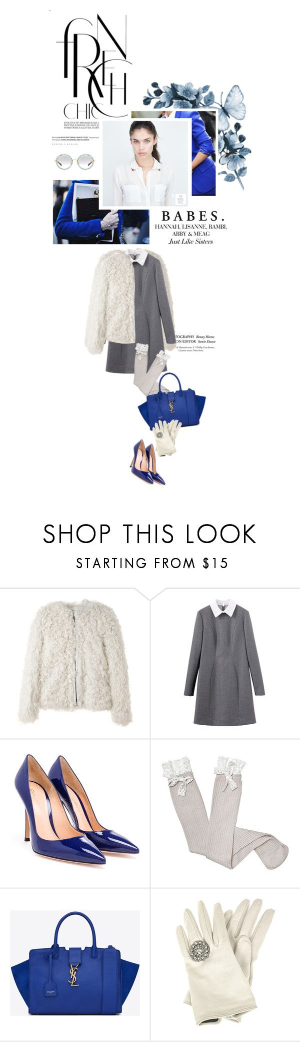 """""""Snow Is Glistening"""" by idealistic-princess ❤ liked on Polyvore featuring Étoile Isabel Marant, Gianvito Rossi, Dotti, Yves Saint Laurent and Miu Miu"""