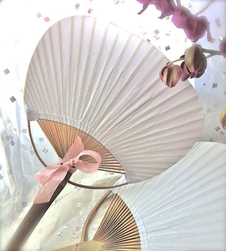 Bambou et papier palette Style Fan par BonFortune sur Etsy