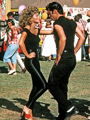 John Travolta Grease Costume | ... Olsen (Olivia Newton-John) and Danny Zuko (John Travolta), Grease