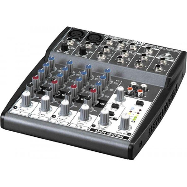 Consola XENYX-802, Behringer tan solo $215.000.
