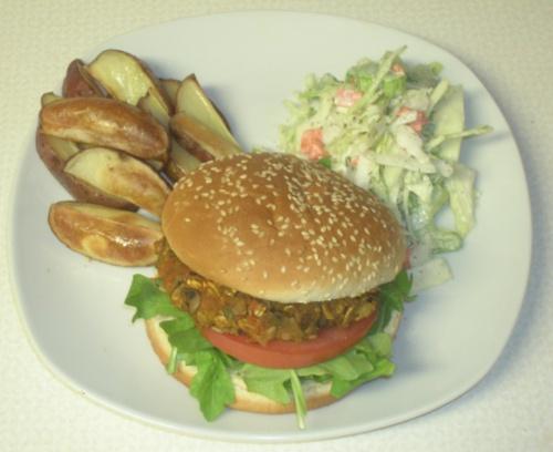 Paddington Mushroom Burgers | Vegan Harry Potter Food | Pinterest