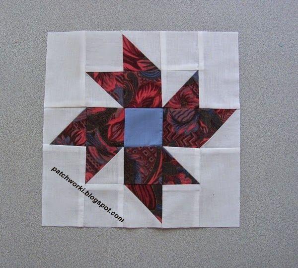 Pinwheel Flower - tutorial