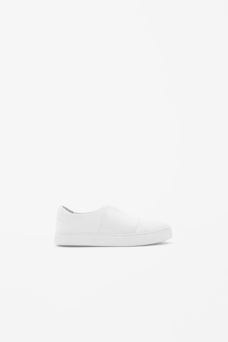 COS | Wrap-over leather sneaker