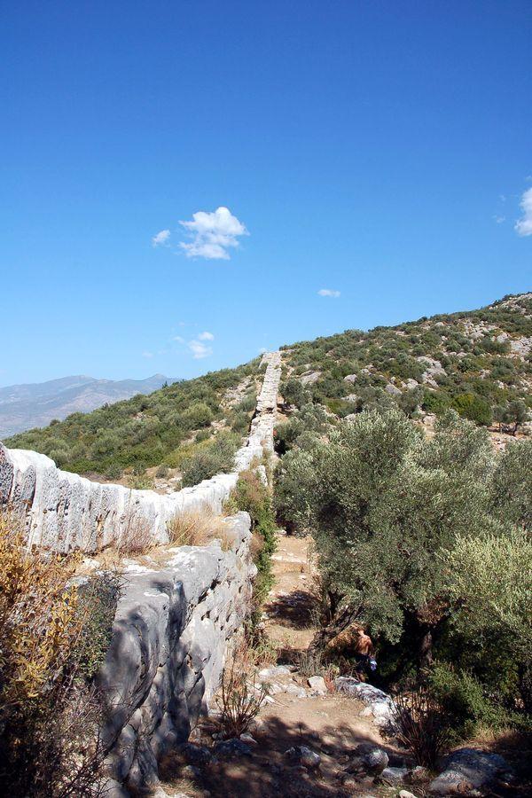 #Aqueduct near #Kalkan in #Turkey