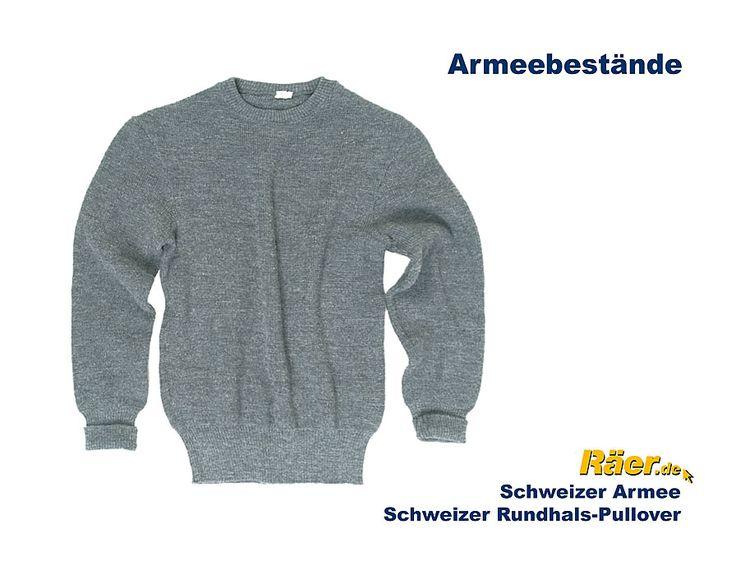 Schweiz Pullover Rundhals --x    B