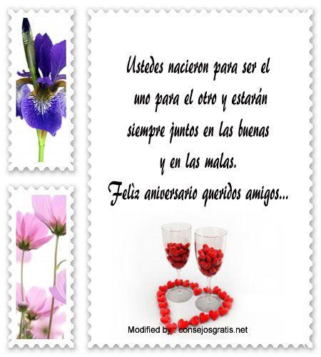 saludos de aniversario,sms bonitos de aniversario,textos de aniversario para whatsapp,dedicatorias de aniversario: http://www.consejosgratis.net/saludos-por-aniversario-de-bodas/