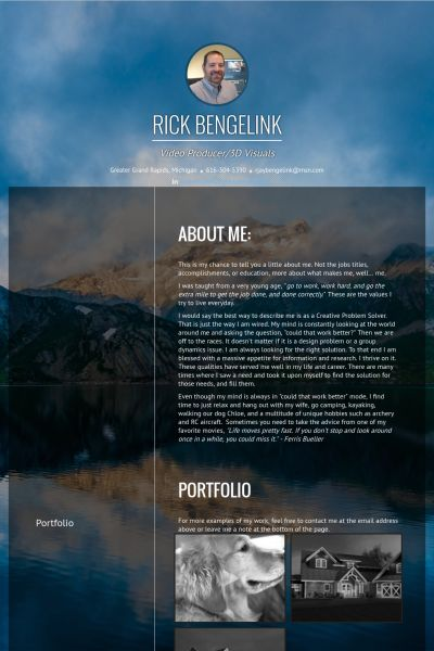 12 best WORK images on Pinterest Sample resume, Resume examples - video resume website