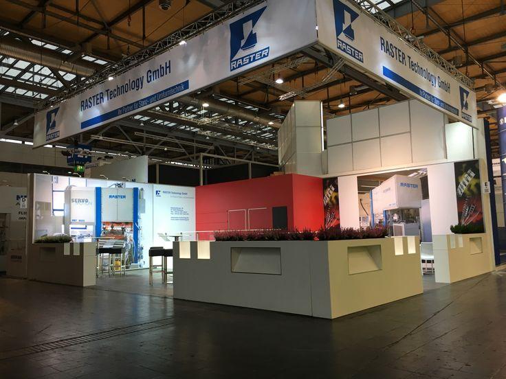 Raster Euroblech 2016 Hannover - Messe - Messebau - Exhibitions Stands Design - Messeprojekt - Scheurle Messebau - Trade Fair - Messestände - Germany - Deutschland