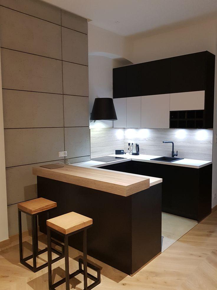 Kuchnia Z Barkiem Komodo Small Kitchen Home Appliances Interior