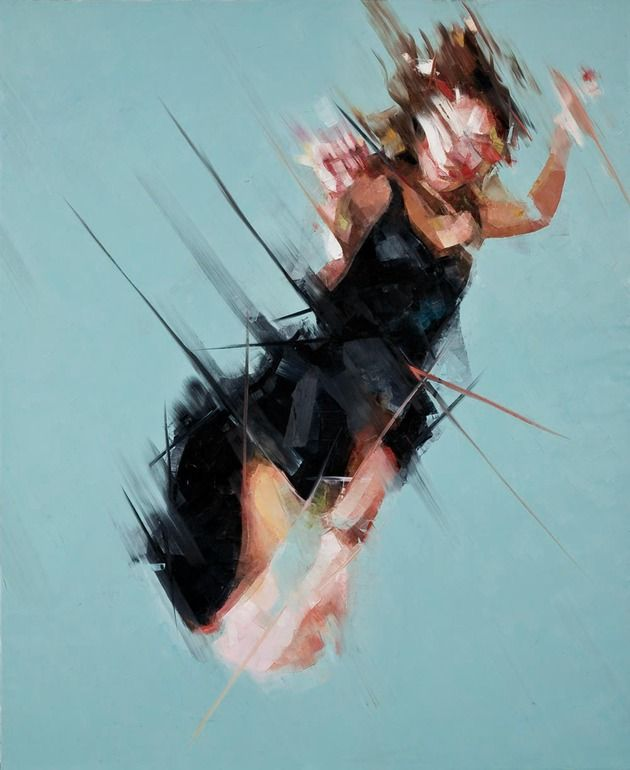 "Saatchi Online Artist: Simon Birch; Oil, 2008, Painting ""Spinward Marches"""