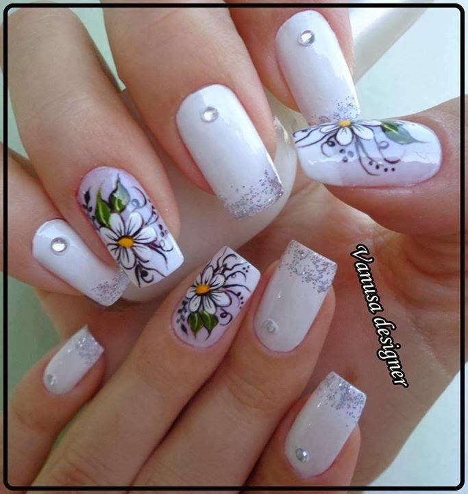 uñas decoradas 2014 gratis - decoracion de uñas - imagenes de uñas