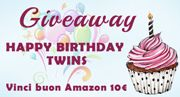Twins Books Lovers: Giveaway di compleanno - Happy birthday twins!