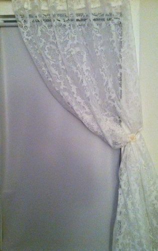 Homemade Curtain Pull Back