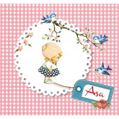Geboortekaartje Asa