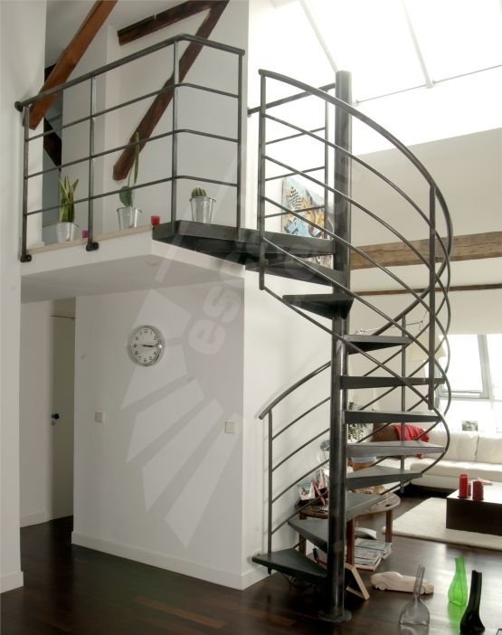 Best 25 escalier h lico dal ideas on pinterest escalier contemporain esca - Escalier colimacon petit diametre ...