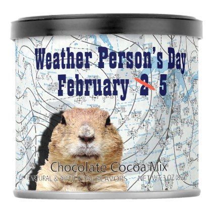 National Weather Persons Day February 5 Hot Chocolate Drink Mix - decor gifts diy home & living cyo giftidea