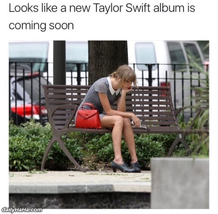 awesome New Taylor Swift Album Must Be Coming