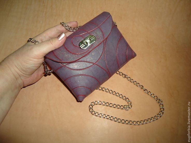 """Купить """"Музыка сфер"""" сумочка. - сумка, натуральная кожа, авторская сумка, авторская ручная работа"""