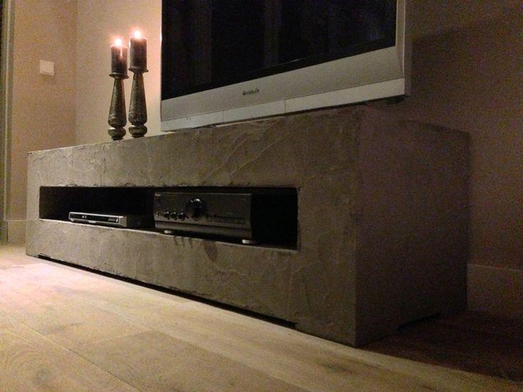 Molitli tv meubel betonlook