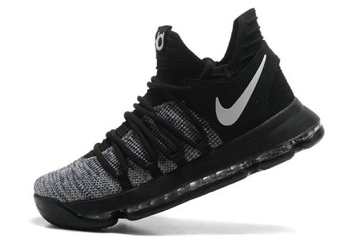 best sneakers 61b5d 93963 Spring Summer 2018 Discount Oreo Black White New KD 10 Kevin Durant Shoes  2017