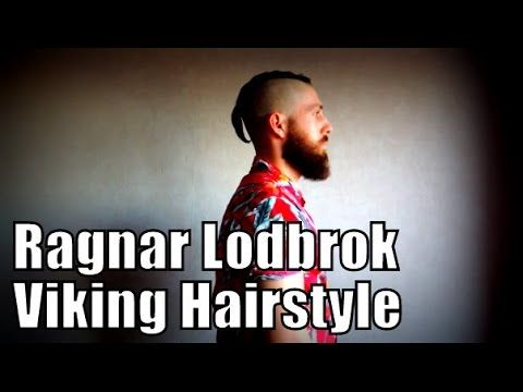 DIY Ragnar Lodbrok from Vikings similar haircut (English Subs) - YouTube