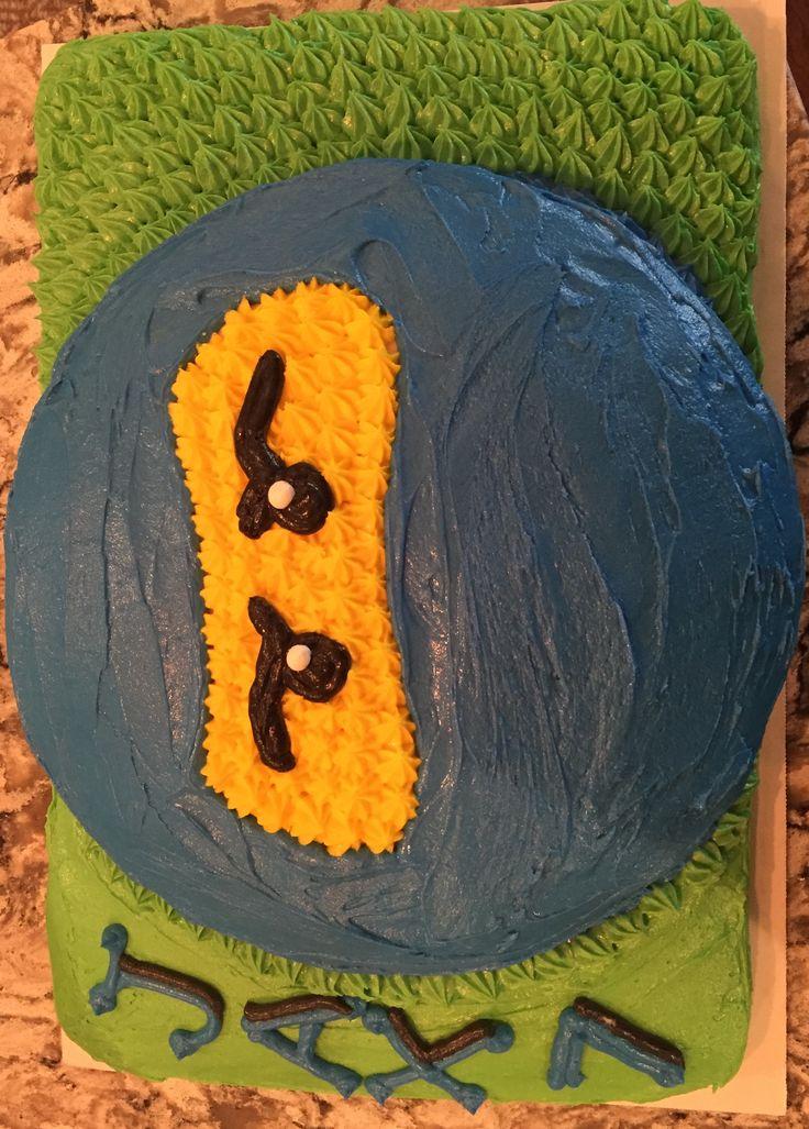Ninjago Cake Jax's 7th Birthday