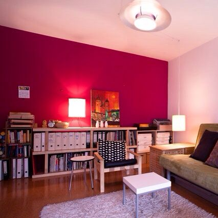 Magenta accent wall. 7 best pink wall for bedroom images on Pinterest   Accent walls