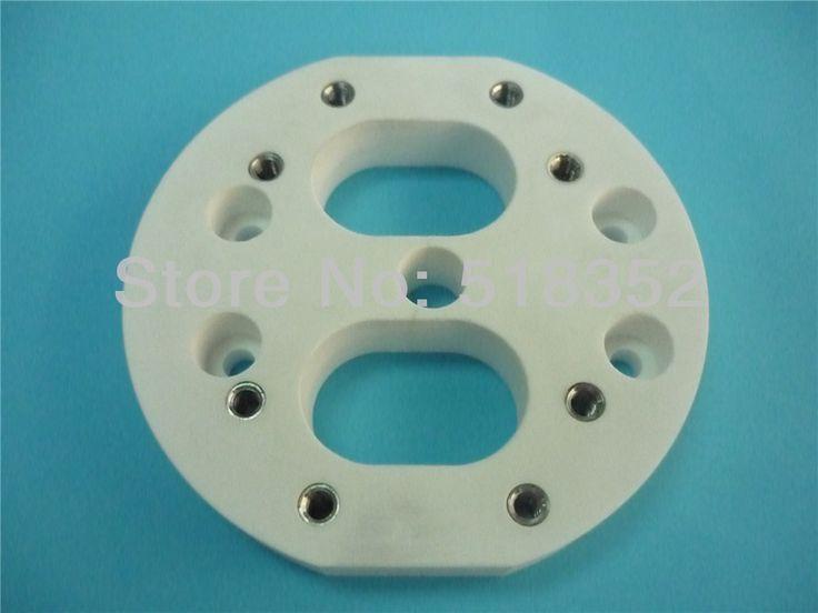 Mitsubishi M309 Ceramic Insulation Board, Isolation Plate Lower Dia.125mmx 20mm for EDM Wire Cutting Machine Part