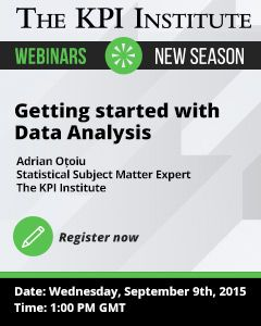 This FREE  webinar will assist both aspiring analysts and managers who want to broaden their skills, regardless of their background, in understanding the basic processes that need to be implemented when performing data analysis.