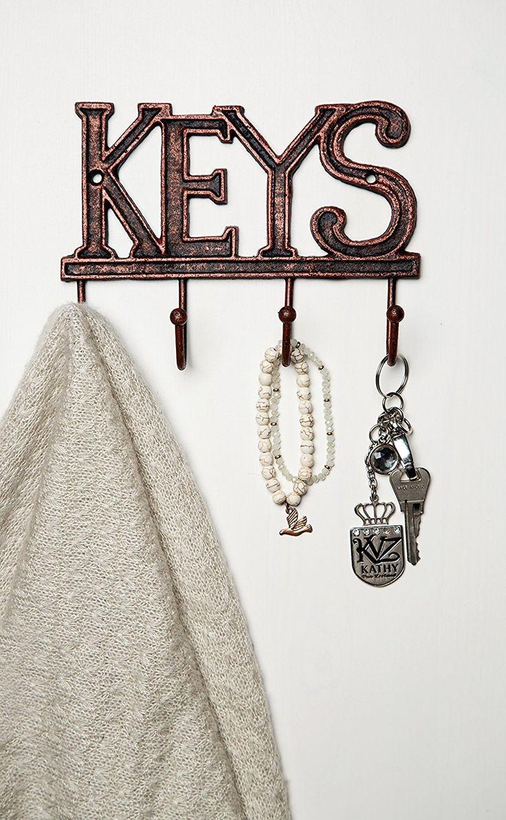 Key Holder - Keys - Wall Mounted Key Hook Best Offer. Best price Key Holder