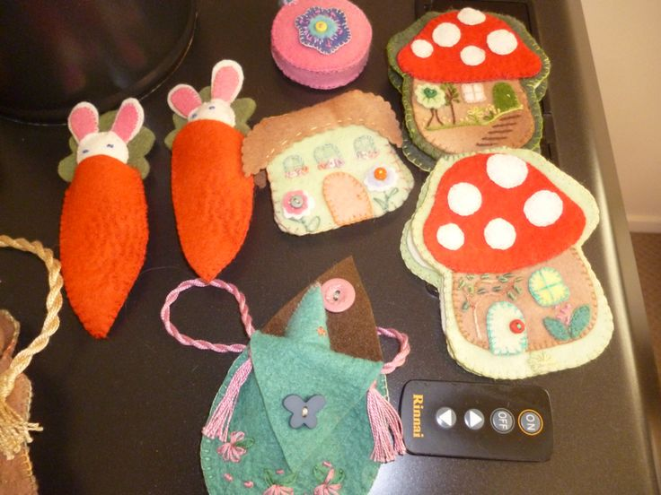 More crafts for the school fair.