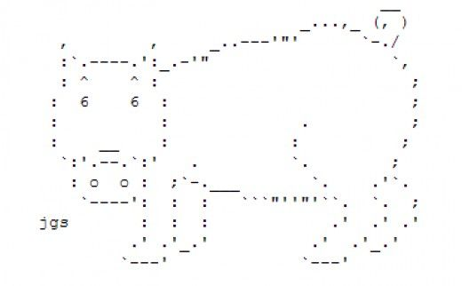 http://thatgrrl.hubpages.com/hub/Year-of-the-Boar-Happy-New-Year-ASCII-Text-Art#