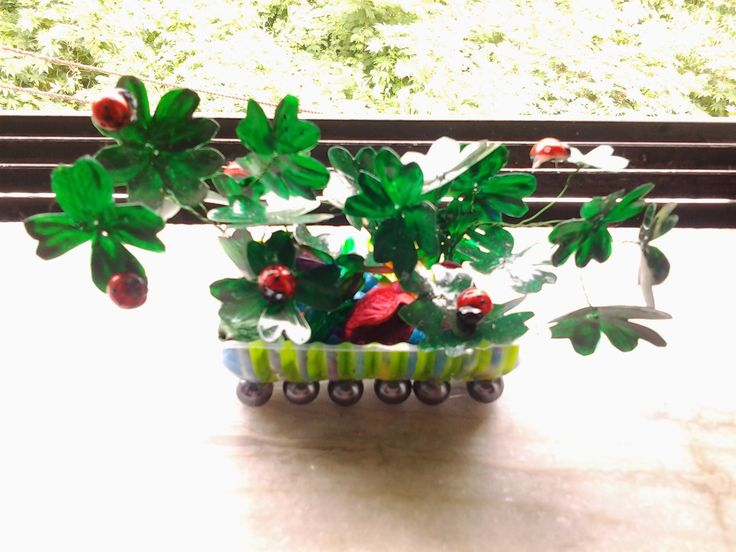17 best images about indoor garden craft ideas on for Best out of waste garden ideas