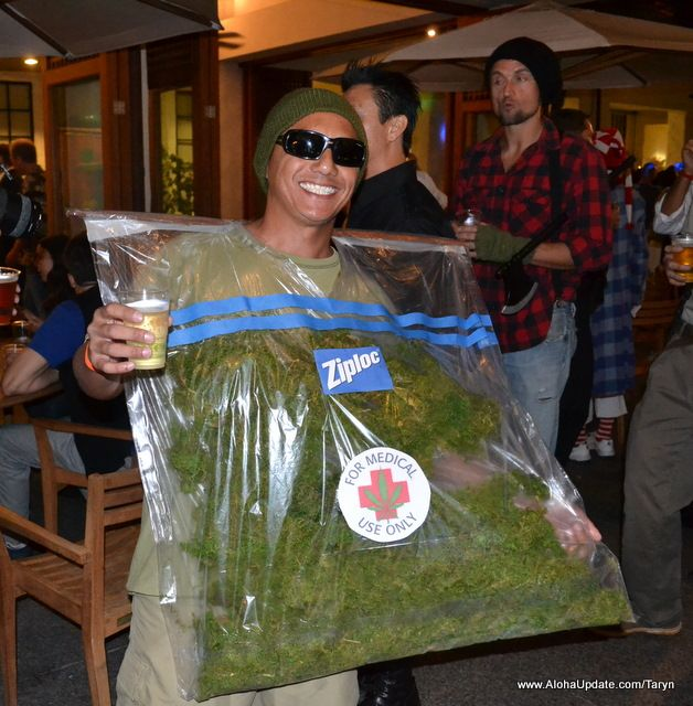 Medical marijuana costume. A good costume for the right ...