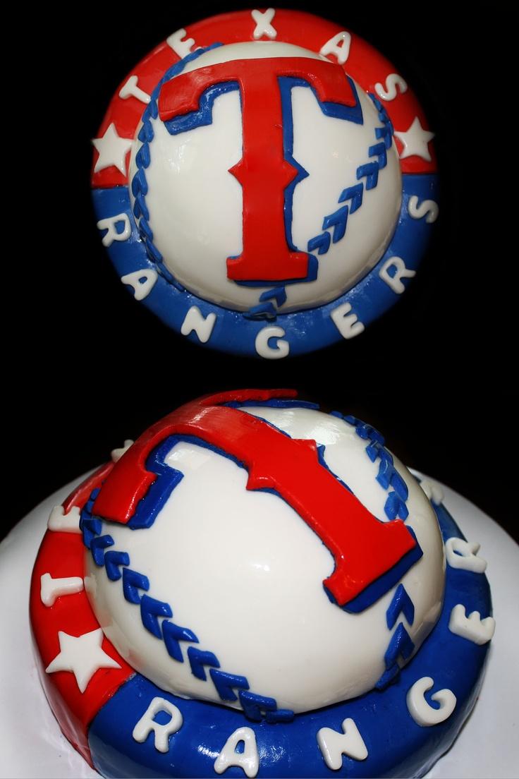 Best 25 Texas Rangers Cake Ideas On Pinterest Baseball