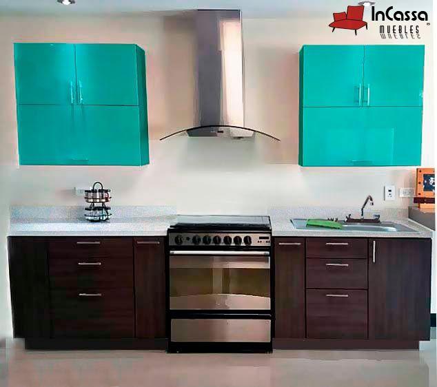 Cocina Mod. YAFRAN 3m. PRECIO: Diseñada para ESTUFA $8,990 / / / Diseñada para PARRILLA $10,990.