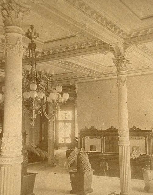 https://flic.kr/p/6ifyDo | Baldwin Hotel entrance SF CA 1880's