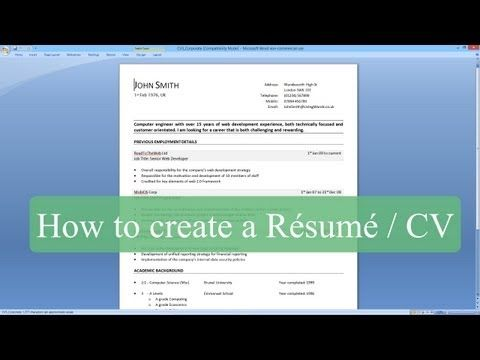 39 best images about Job Project on Pinterest My resume, Cover - how to make a resume on microsoft word 2010