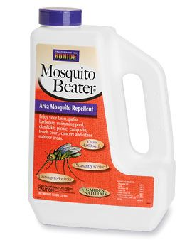 We use this in mosquito season.  In the beginning of the season and towards the middle.  Just spread it on your lawn and call it a day.