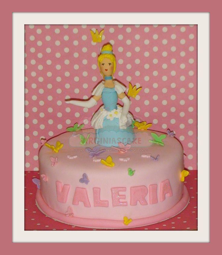 Virginias Cake: TARTA PRINCESA (CENICIENTA) http://www.virginiascake.com/portfolio-items/tarta-cenicienta-valeria/