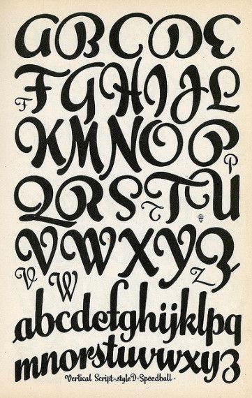 cool fonts alphabet - Google Search