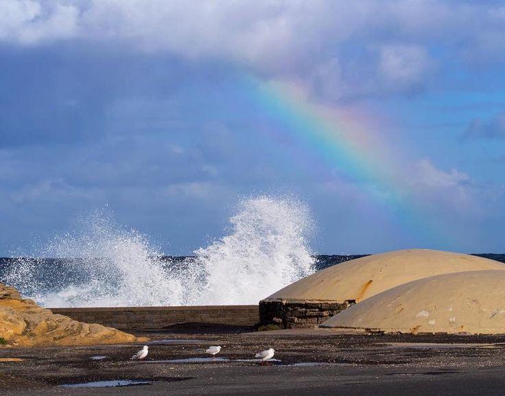 #Repost @piscesphotography  Rainbow #destinationwarrnambool #love3280 #warrnamboolbreakwater by destinationwarrnambool